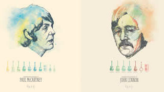 Les Beatles en illustrations