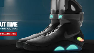le court métrage Nike des chaussures Back For The Future 1