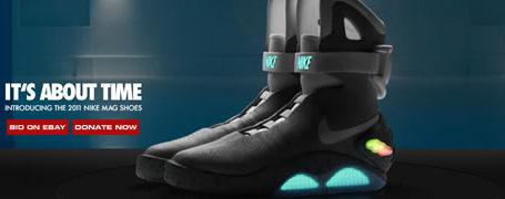 le court métrage Nike des chaussures Back For The Future 11