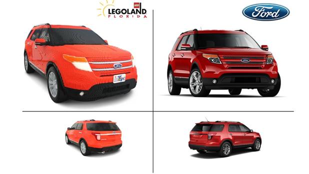 Un Ford Explorer avec 380 000 pièces de Lego 2