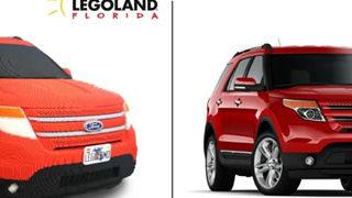 Un Ford Explorer avec 380 000 pièces de Lego