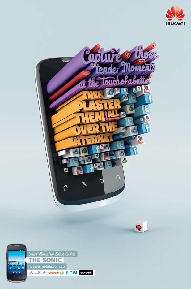 80+ publicités créatives et designs d'août 2011 56