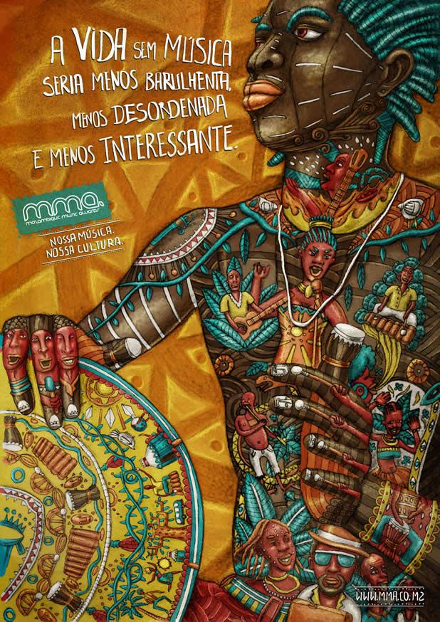 80+ publicités créatives et designs d'août 2011 42