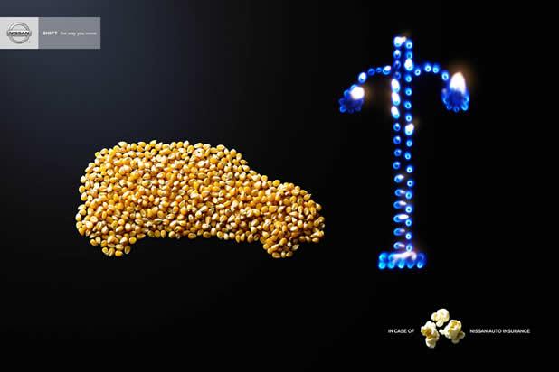 80+ publicités créatives et designs d'août 2011 30