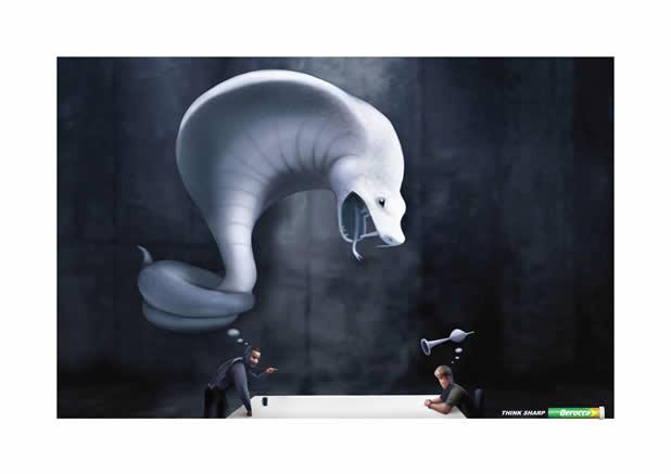 80+ publicités créatives et designs d'août 2011 75