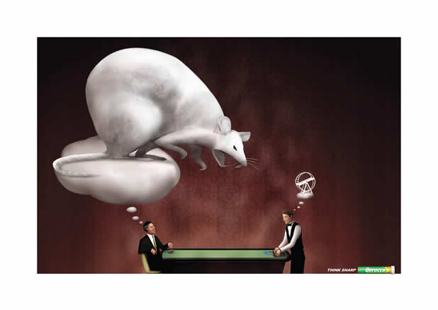 80+ publicités créatives et designs d'août 2011 73