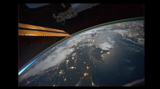 TimeLapse de la terre vue d'un satellite 2