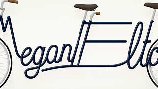 Write a Bike - Vélos typographiques