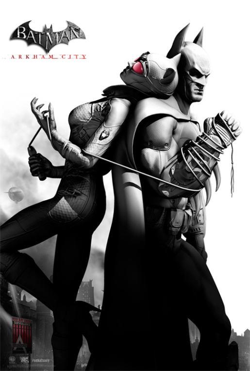 Les posters pour Batman Arkham City 2