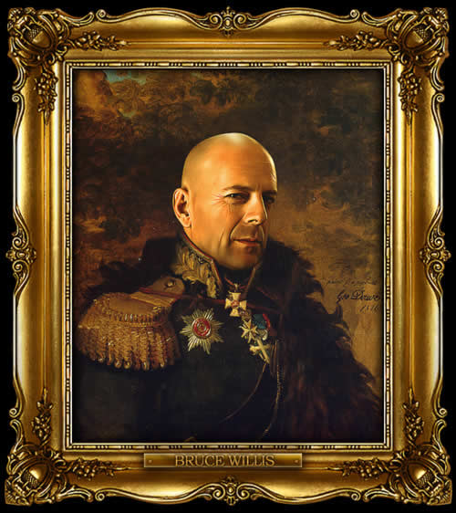 Les personnes célèbres à la mode général Russe 3