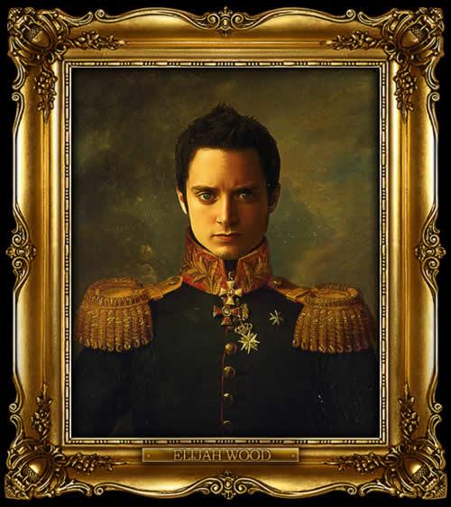 Les personnes célèbres à la mode général Russe 4
