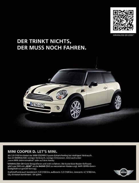 20 publicités utilisant des QRcodes 6