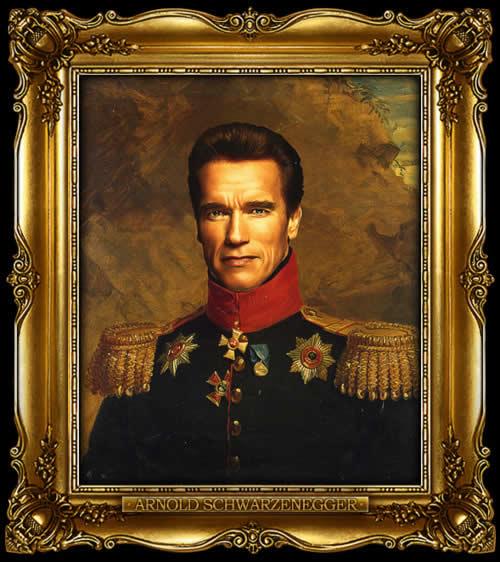 Les personnes célèbres à la mode général Russe 9