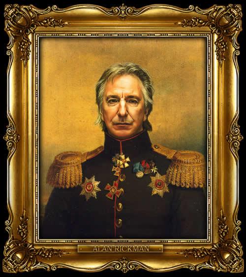 Les personnes célèbres à la mode général Russe 13
