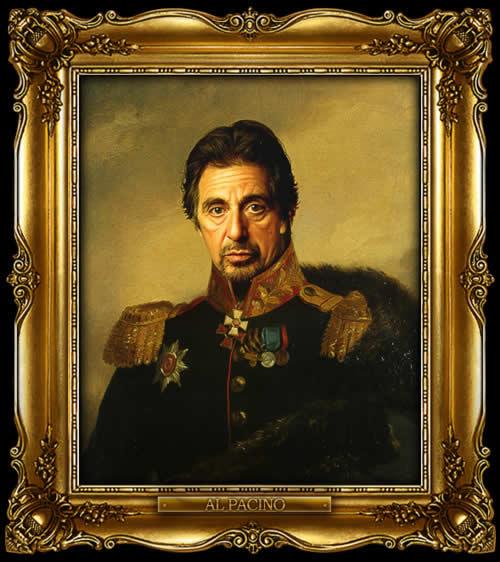 Les personnes célèbres à la mode général Russe 15