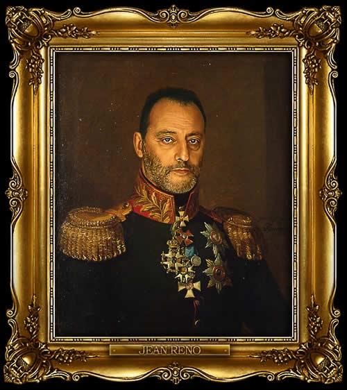 Les personnes célèbres à la mode général Russe 17