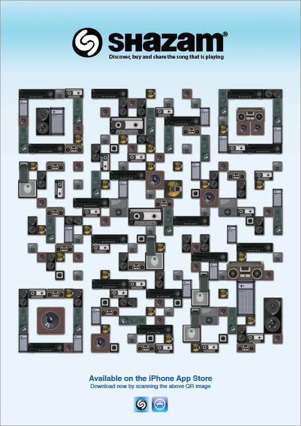 20 publicités utilisant des QRcodes 18