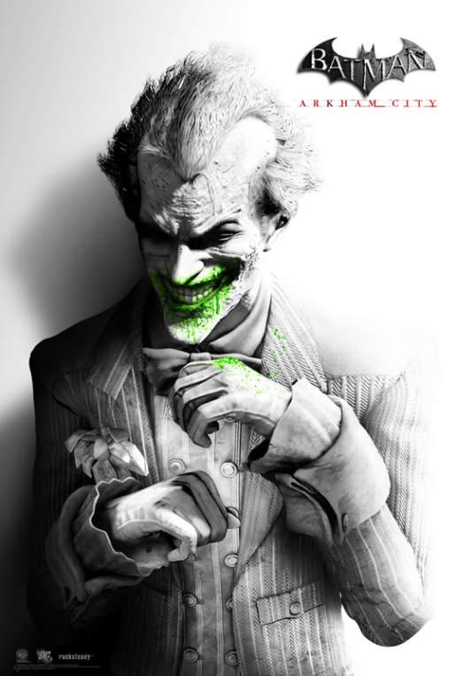 Les posters pour Batman Arkham City 5
