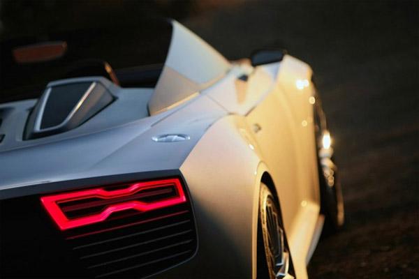 Concept Car Audi E-tron Spider 3