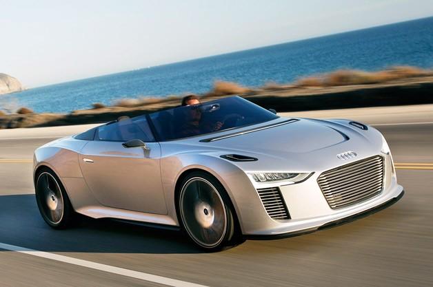 Concept Car Audi E-tron Spider 8