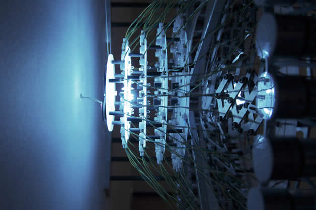 Incroyable sculpture lumineuse | Concentricity 96  4