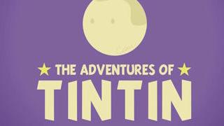 Les aventures de Tintin résumées en motion design