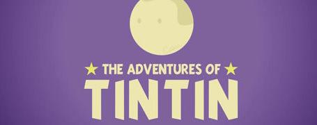 Les aventures de Tintin résumées en motion design  2