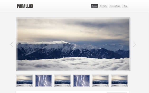 theme wordpress parallax
