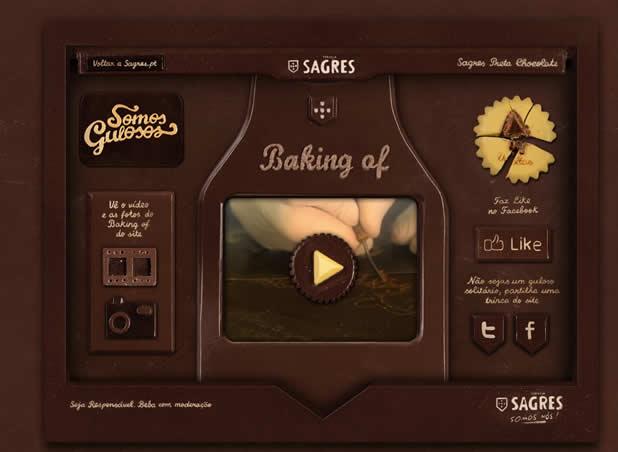 Comment un site web est créé tout en chocolat 3