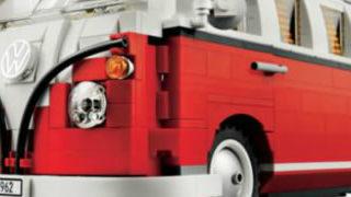 Un Van LEGO Volkswagen T1 en timelapse