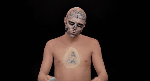 L'homme Zombie à la peau neuve - Go Beyond The Cover 2