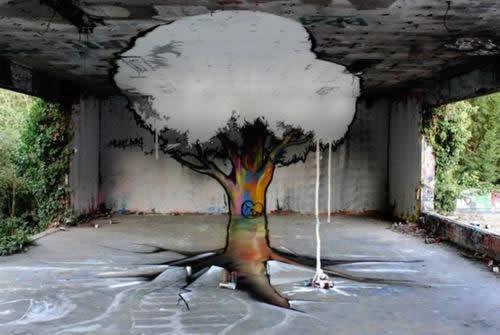 01 streetart vol7 50 street art fun et créatifs   vol 7