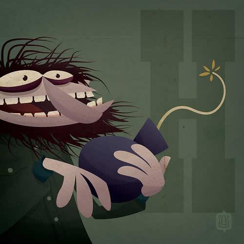 La typographie du Muppets Show - The muppabet 3
