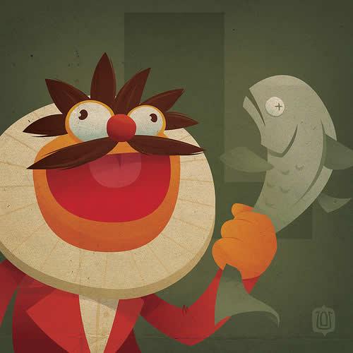 La typographie du Muppets Show - The muppabet 4