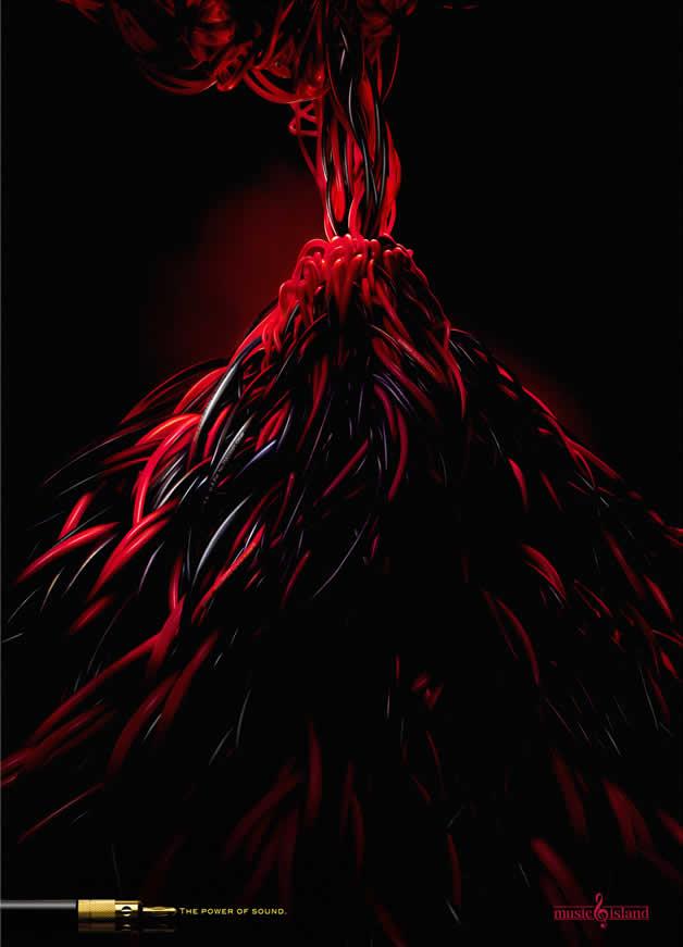 110+ publicités créatives et designs d'octobre 2011 48