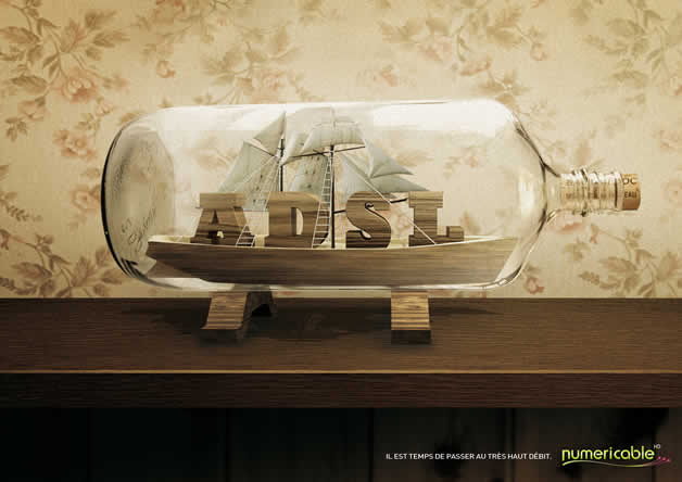 110+ publicités créatives et designs d'octobre 2011 45