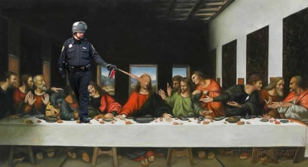20 parodies du policier qui a envoyé du spay à UC Davis  16