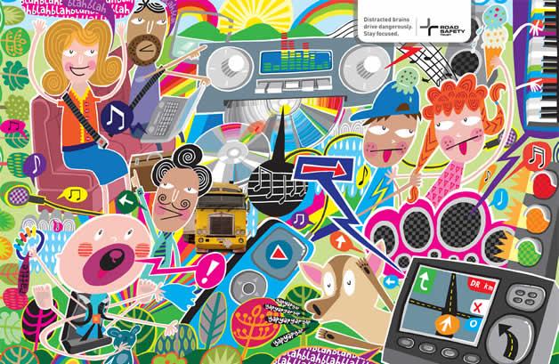 110+ publicités créatives et designs d'octobre 2011 29