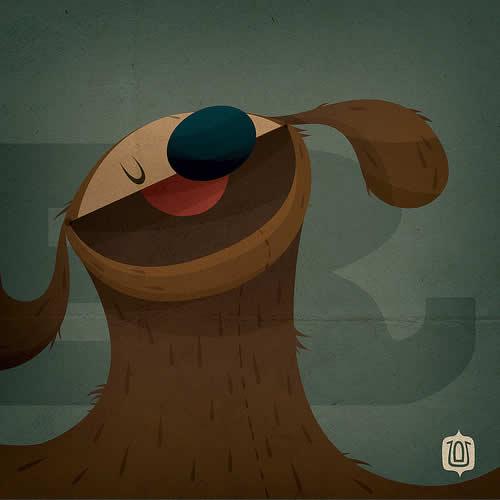 La typographie du Muppets Show - The muppabet 11