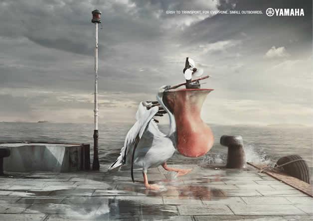 110+ publicités créatives et designs d'octobre 2011 4