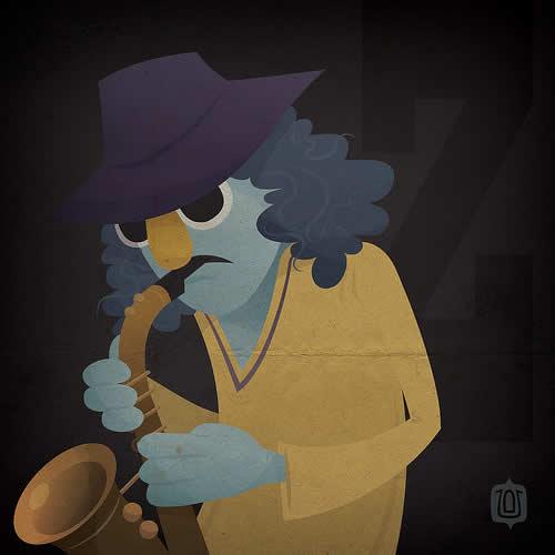 La typographie du Muppets Show - The muppabet 20