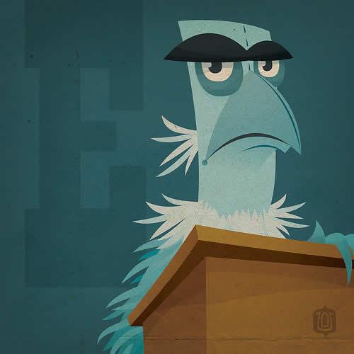 La typographie du Muppets Show - The muppabet 22