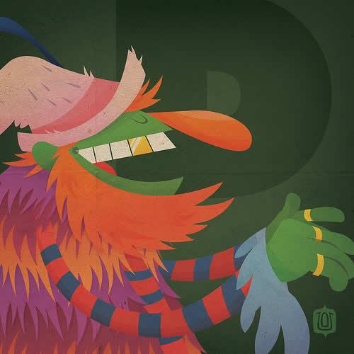 La typographie du Muppets Show - The muppabet 23