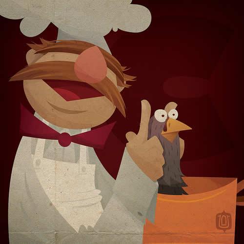 La typographie du Muppets Show - The muppabet 24