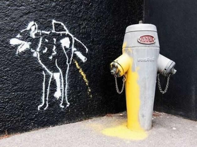 23 streetart vol7 50 street art fun et créatifs   vol 7