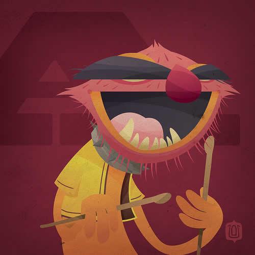 La typographie du Muppets Show - The muppabet 26