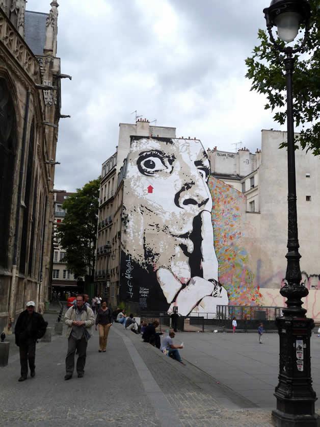 28 streetart vol7 50 street art fun et créatifs   vol 7