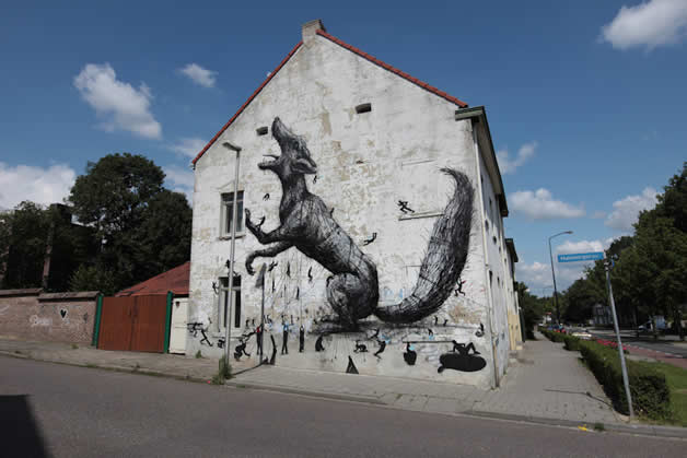 33 streetart vol7 50 street art fun et créatifs   vol 7