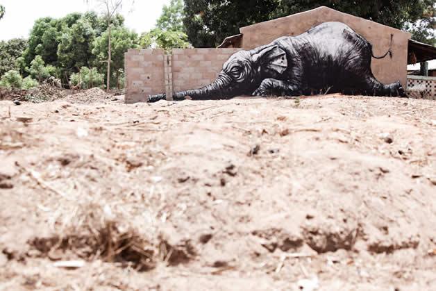 34 streetart vol7 50 street art fun et créatifs   vol 7
