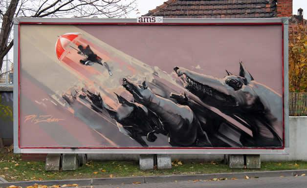 35 streetart vol7 50 street art fun et créatifs   vol 7